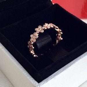 Original pandora daisies ring size 7